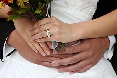 יהלום עגול - טבעת אירוסין